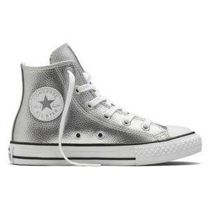 Converse Shoes - CONVERSE METALLIC HI-TOP